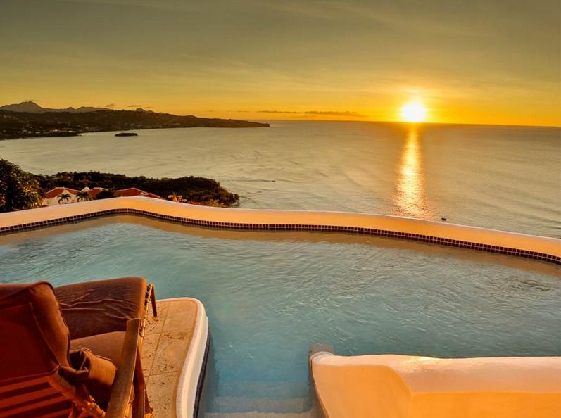 Beautiful Ocean Views this st. lucia villa has some of the most beautiful ocean views