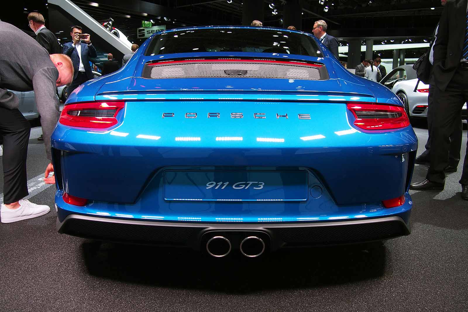 Hate Rear Wings Porsche Now Has A 911 Gt3 Just For You The 911