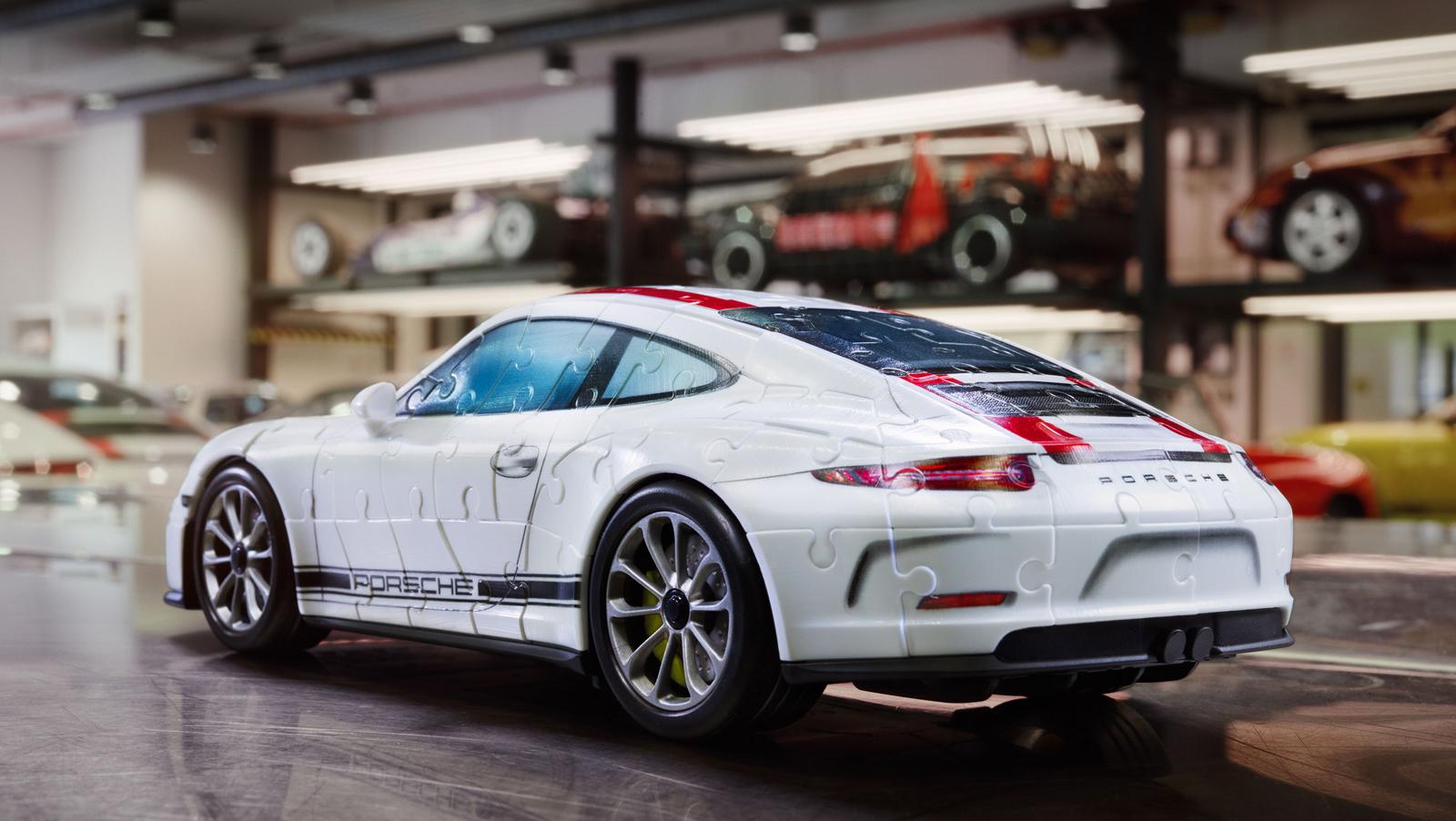 You Can Now Get a Porsche 911 R 3D Puzzle