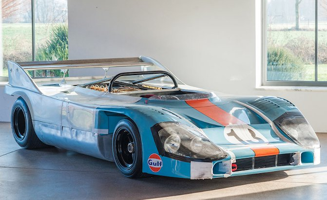 One of Porsche's Most Important Race Cars is Up For Sale