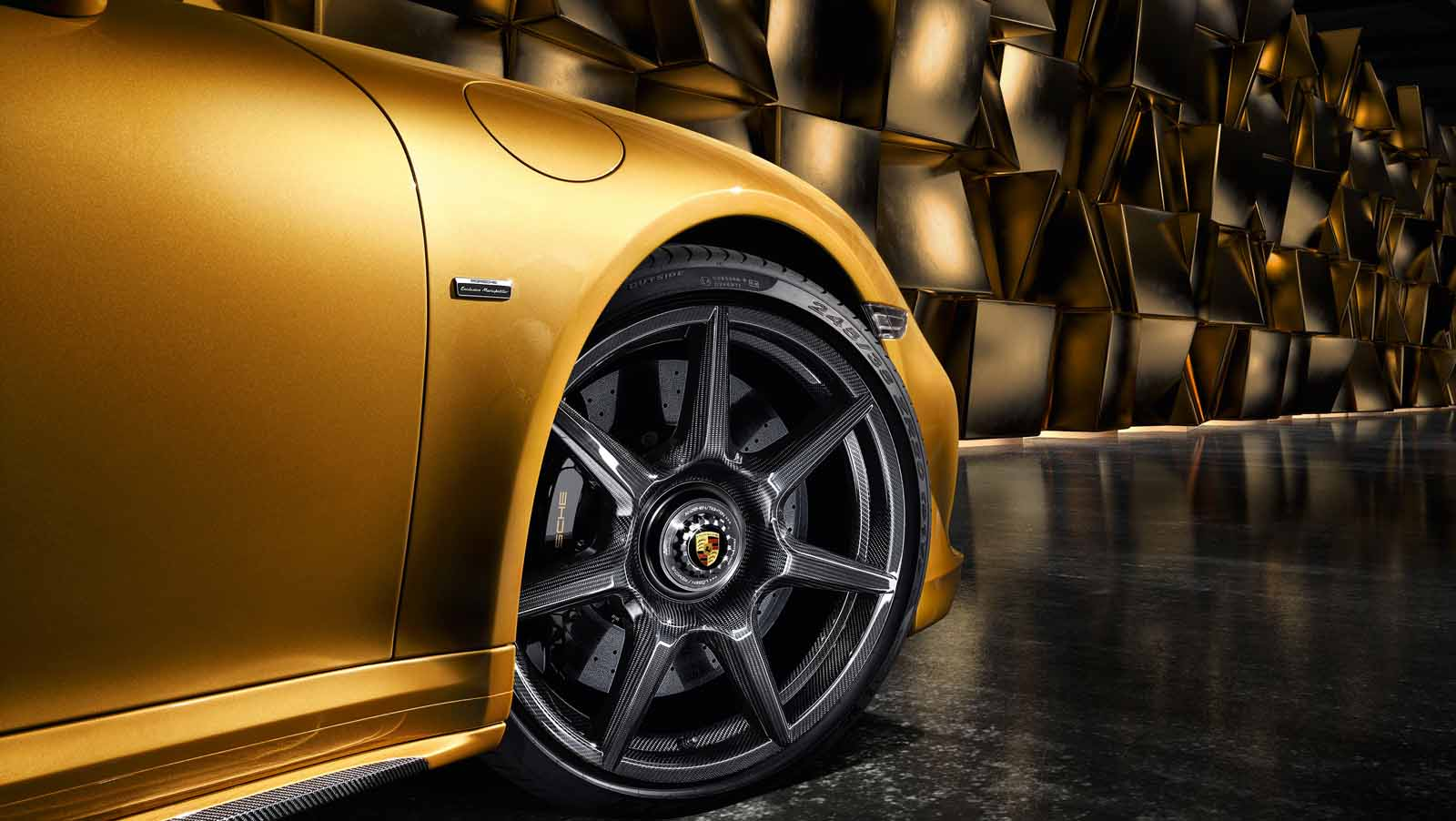 These Carbon Fiber Porsche Wheels Cost $18K