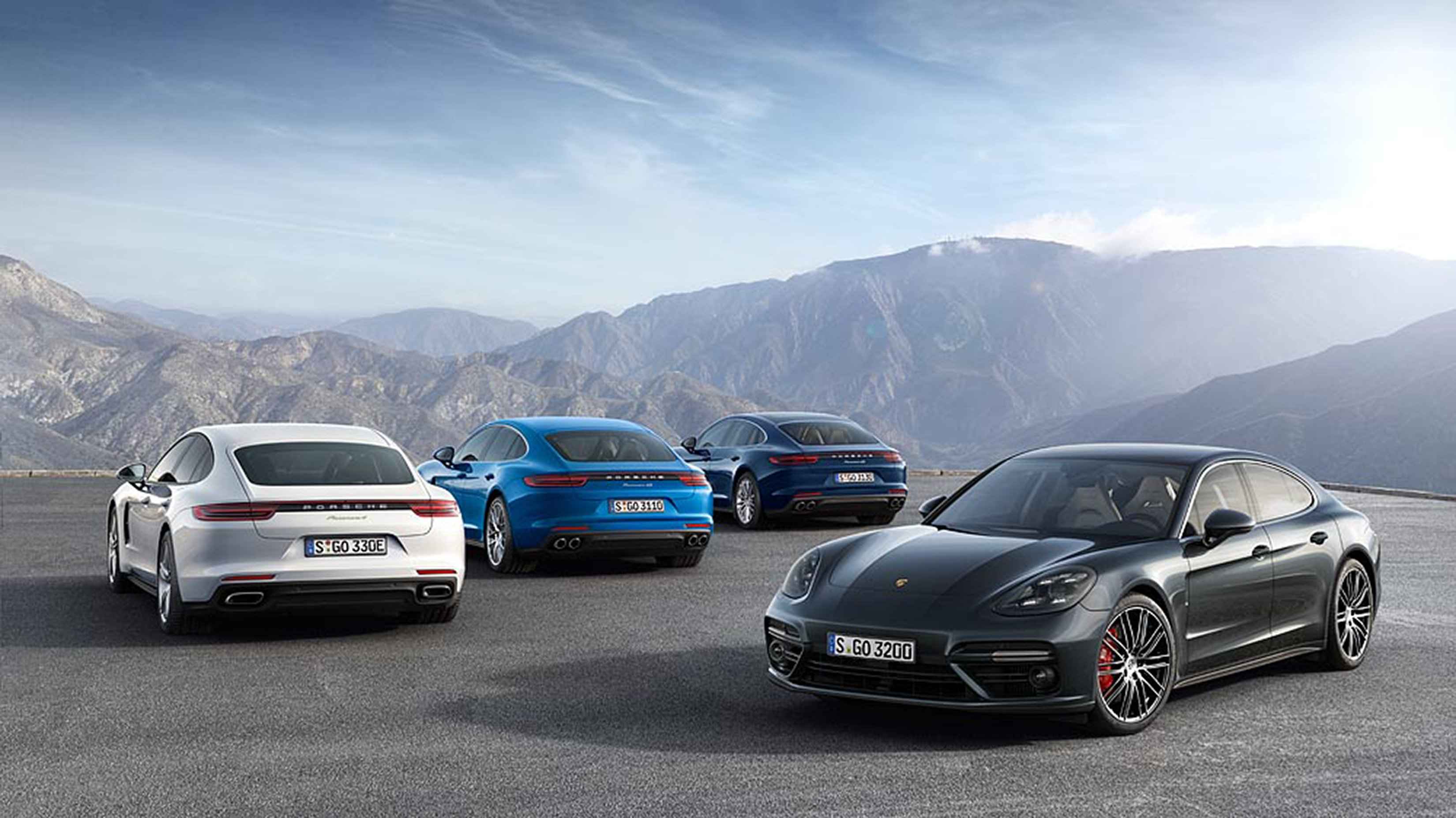 News Porsche Panamera Hybrid Uses Electric Steroids