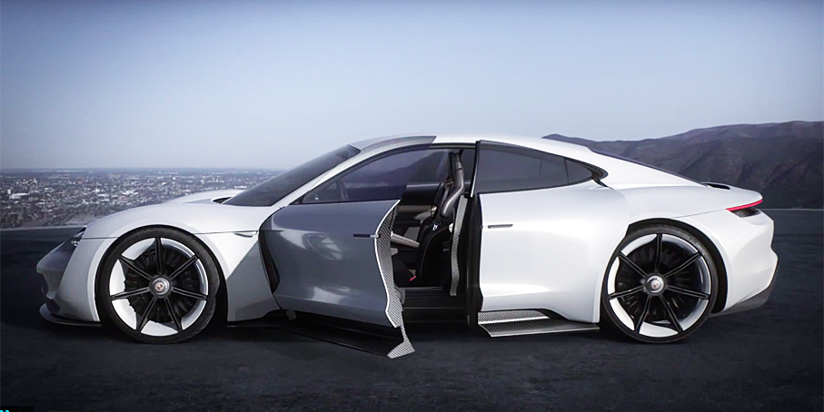 This Ultra-Futuristic Interior is Porsche's Best Ever
