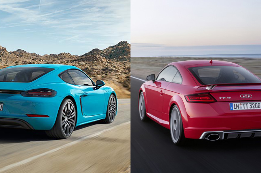 Would You Rather: Porsche 718 Cayman or Audi TT RS?