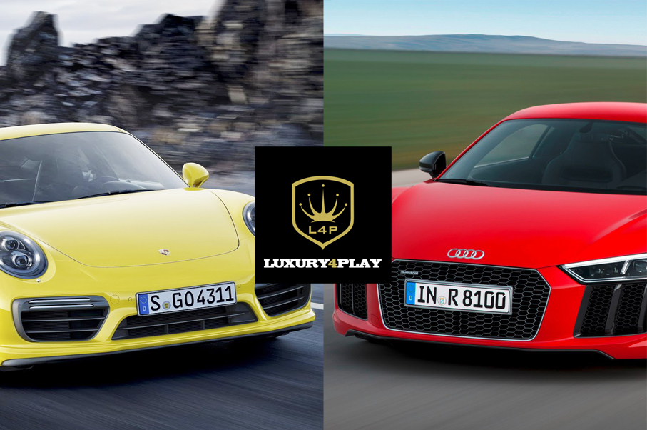 Would You Rather Audi R8 V10 Plus Or Porsche 911 Turbo S Luxury4play Com