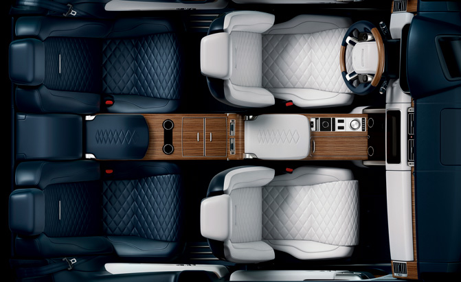 Range Rover SV Coupe Teased Ahead of March Debut