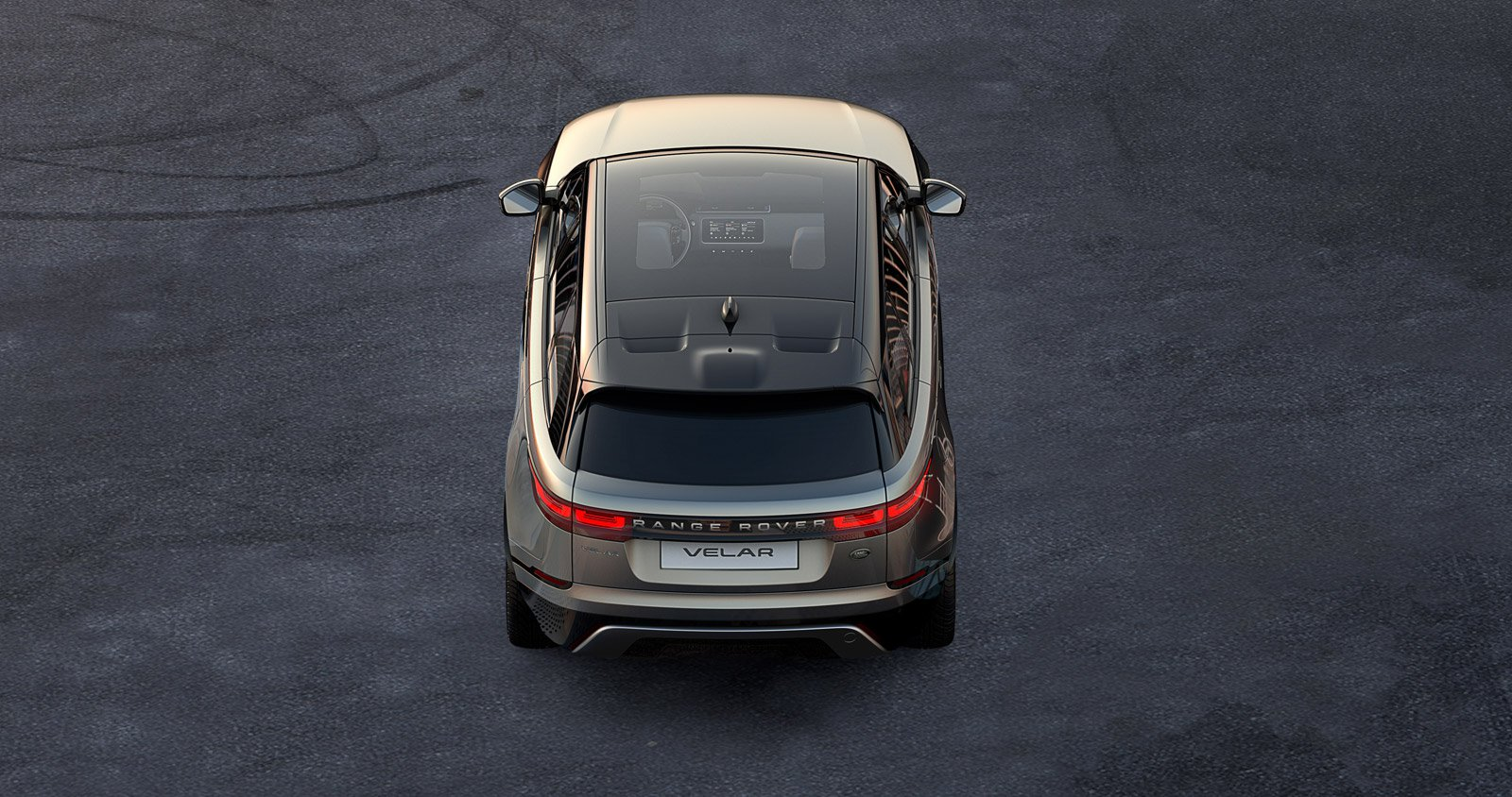 Upcoming Range Rover Velar Has a Huge See-Through Roof