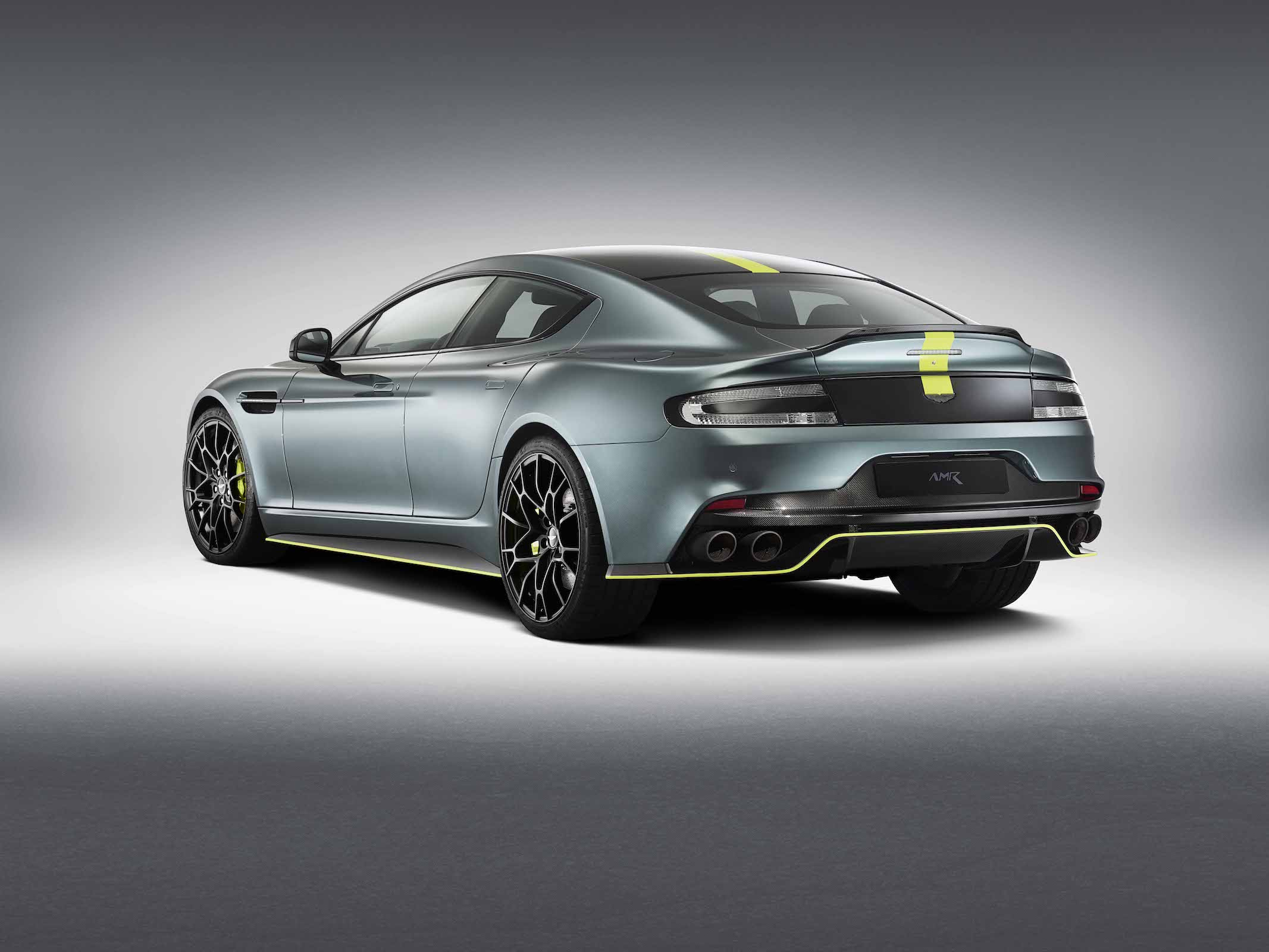 New Aston Martin Rapide AMR is Fast and Exclusive