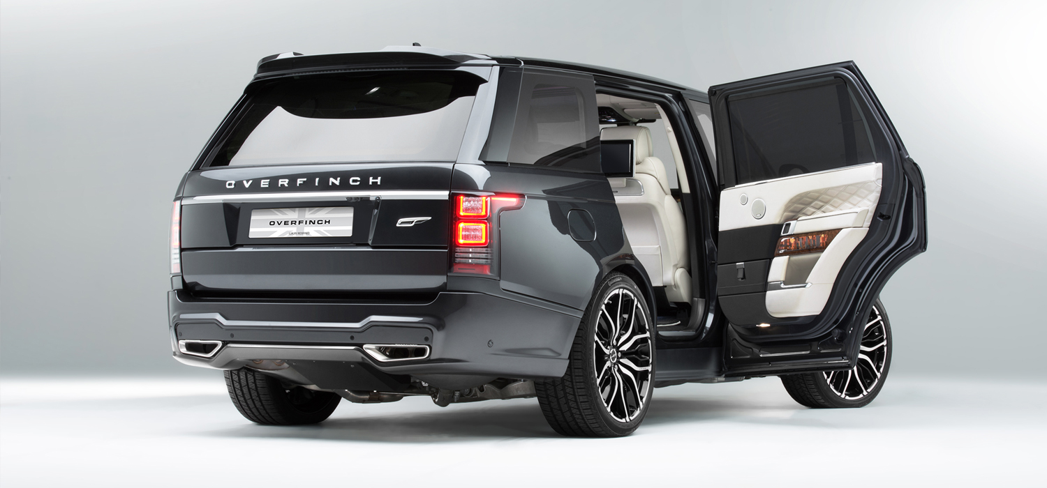 The Overfinch Range Rover LWB Manhattan Edition is an Outlandish Ode to Opulence