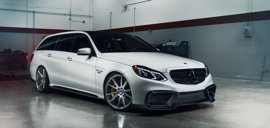 With 850 Horsepower This Tuned Mercedes E63 AMG is Next Level Awesome