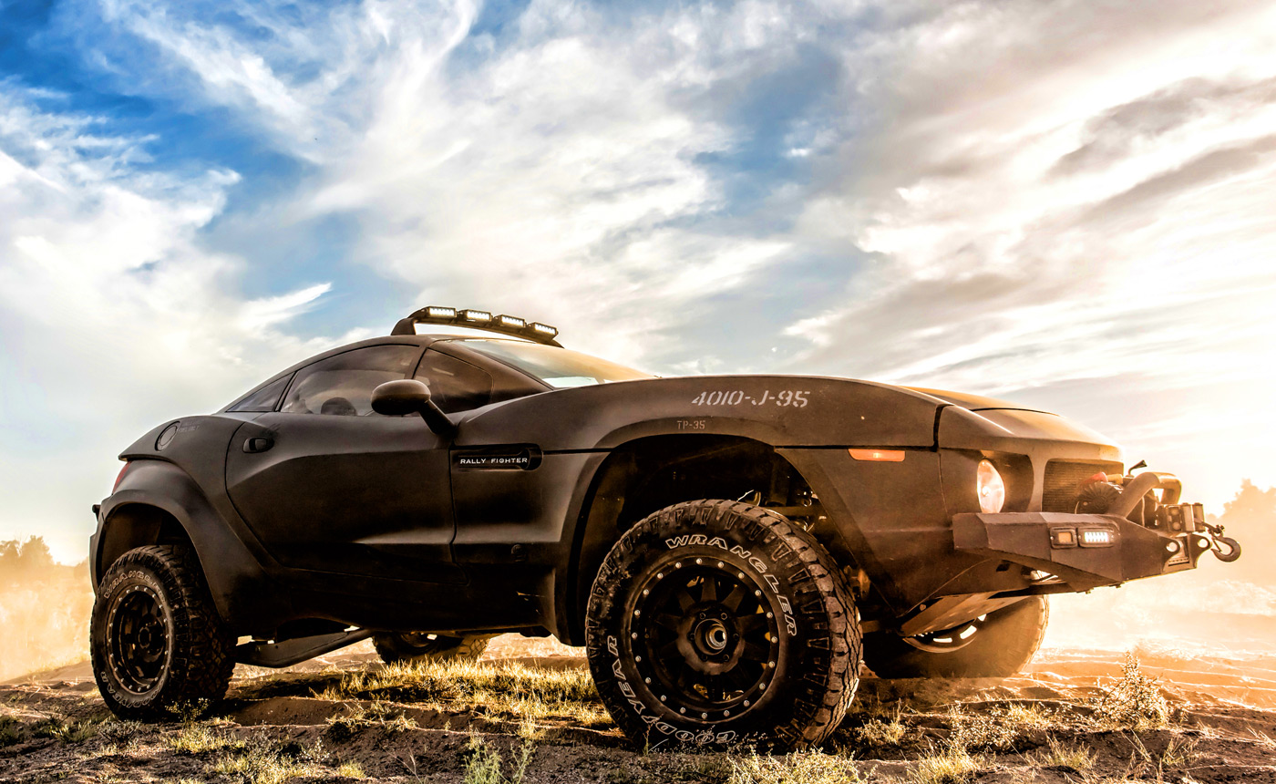 The Rally Fighter Is The Off Road Supercar You Build Yourself
