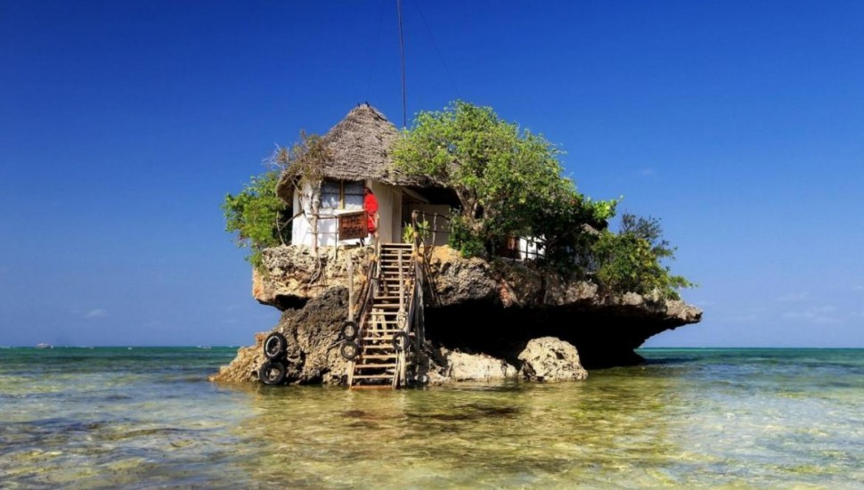 Zanzibar's Restaurant in the Middle of the Indian Ocean is Stunningly Amazing
