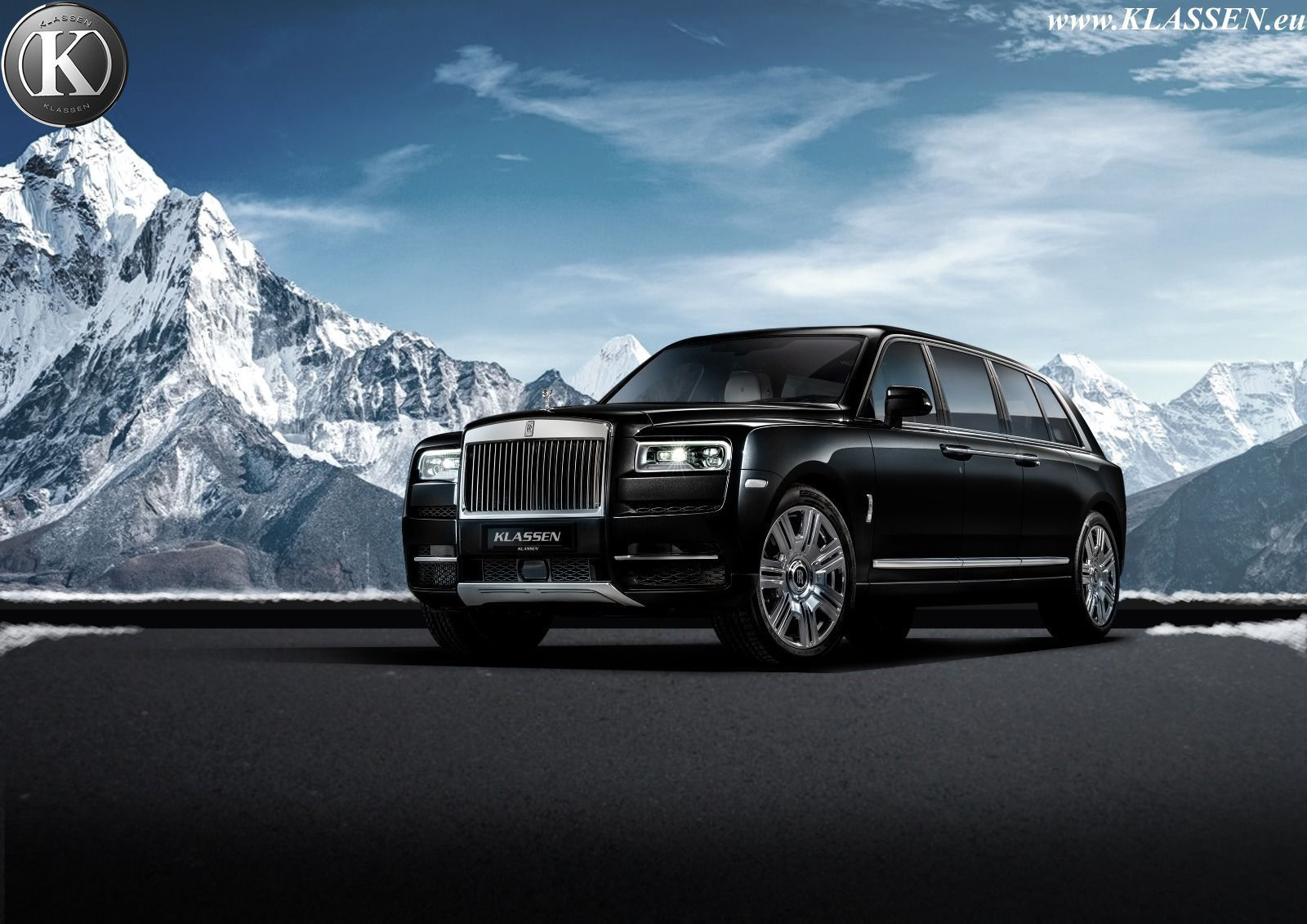 Someone Turned the Rolls-Royce SUV Into a $2 Million Limousine