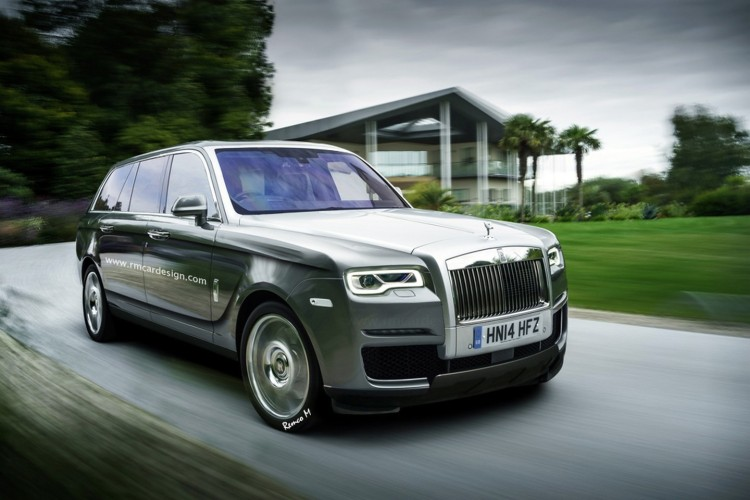 See the New Insanely Luxurious Rolls-Royce Cullinan SUV