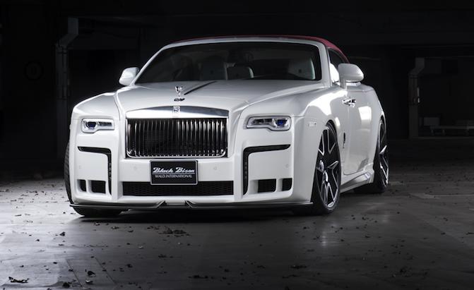 Wierd Wald Rolls-Royce Dawn Black Bison Is Surreal Sport-Luxury