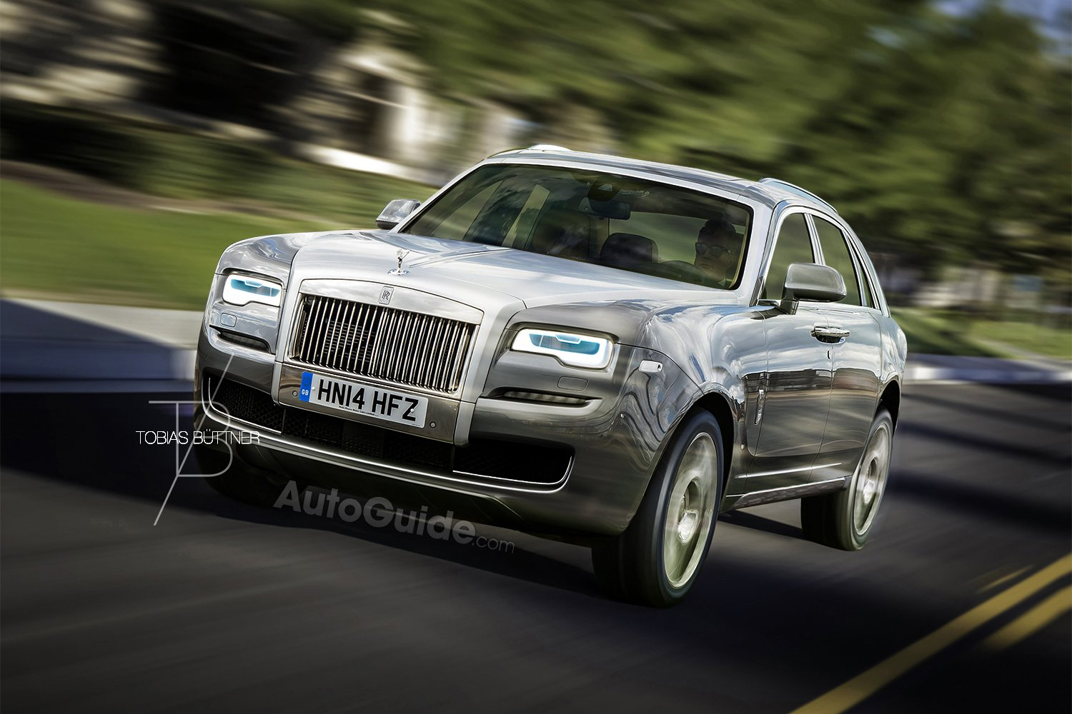 The New Rolls-Royce SUV Could Look Like This
