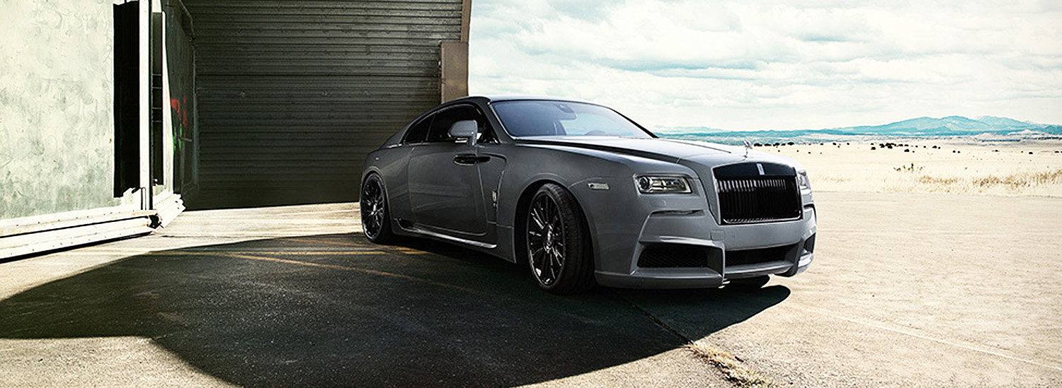 This Tuner Just Made the Most Badass Wide Body Rolls-Royce Wraith Ever