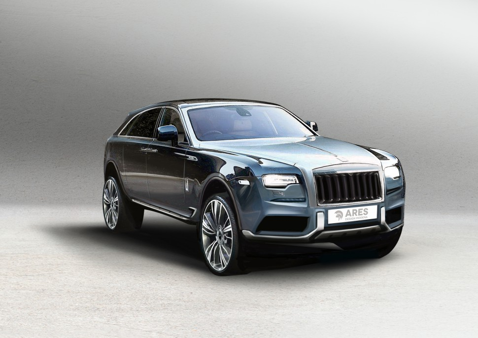 If Rolls-Royce Made an SUV it Could Look Like This!