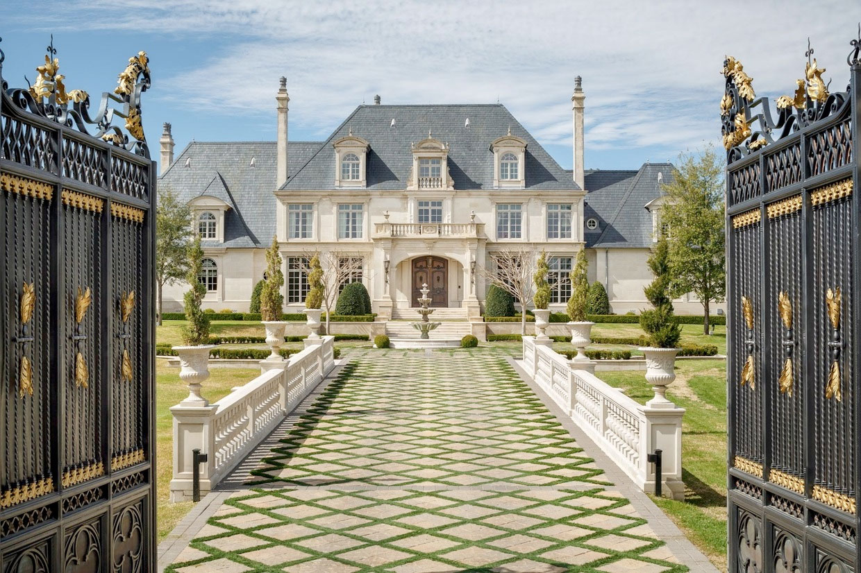 You Won't Believe What This Texas Mansion Has In Its Backyard…