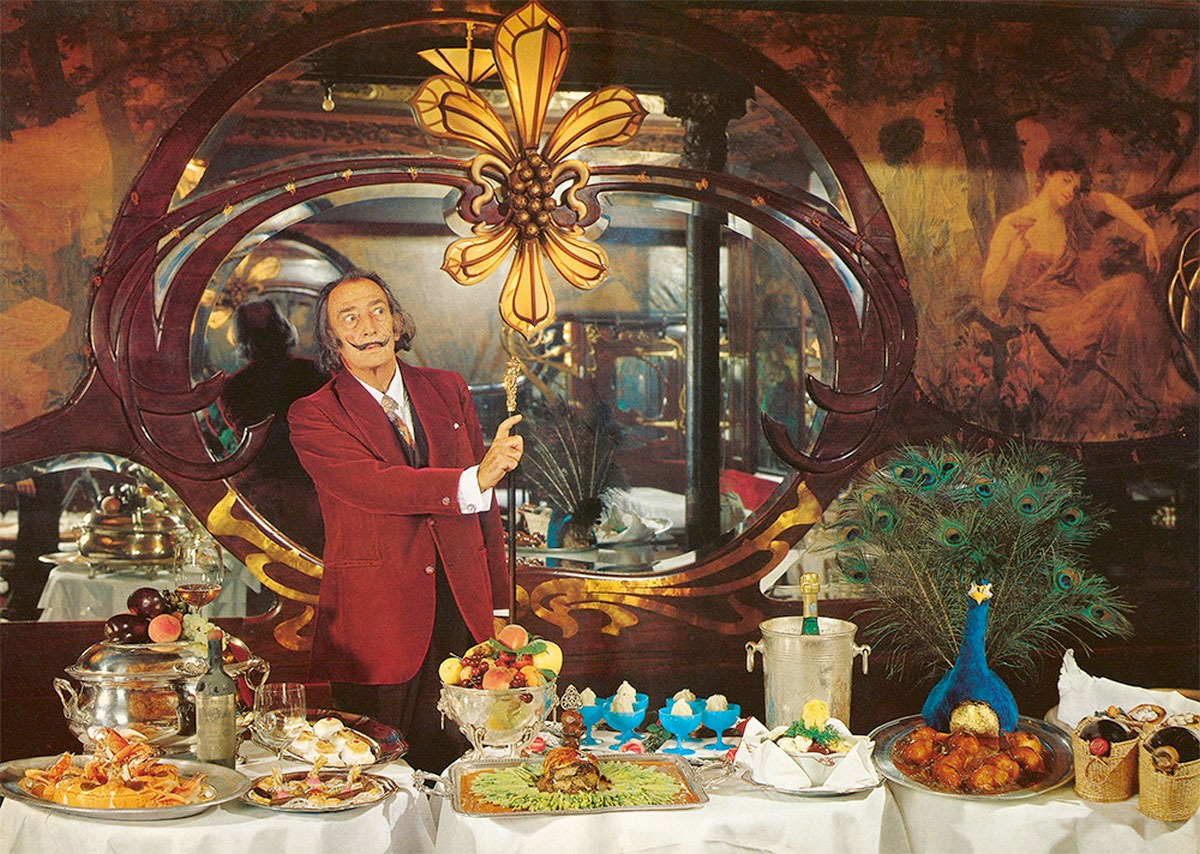 Salvador Dali's Long Lost Cookbook Will Have You Tripping Balls