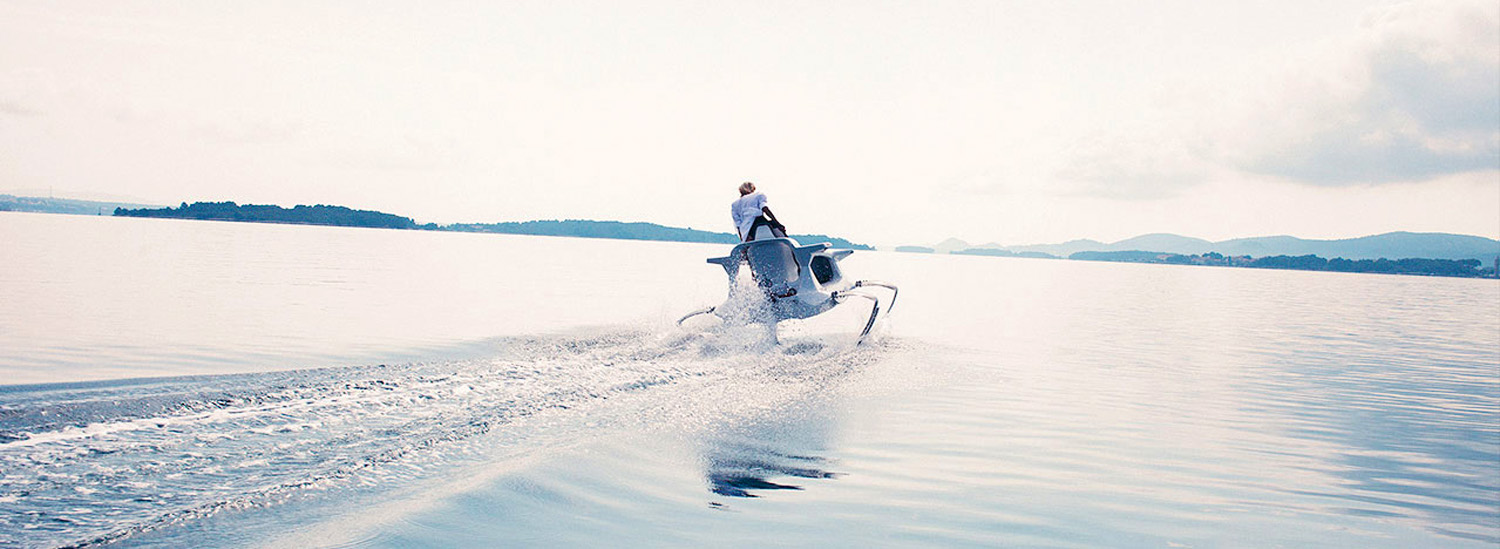 This Crazy Quadrofoil is The Four-Legged Boat of The Future