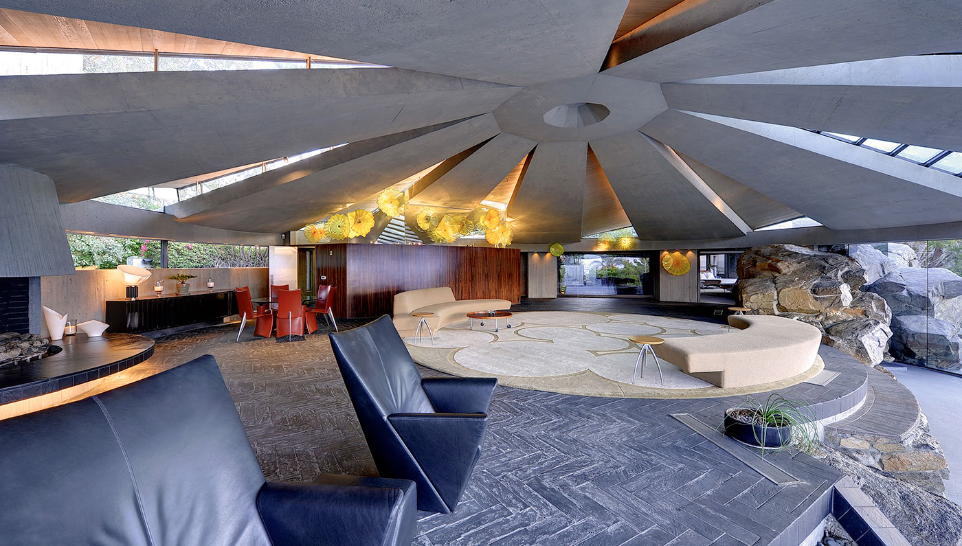 Hide Out in This Real $10 Million James Bond Villain Lair in Palm Springs