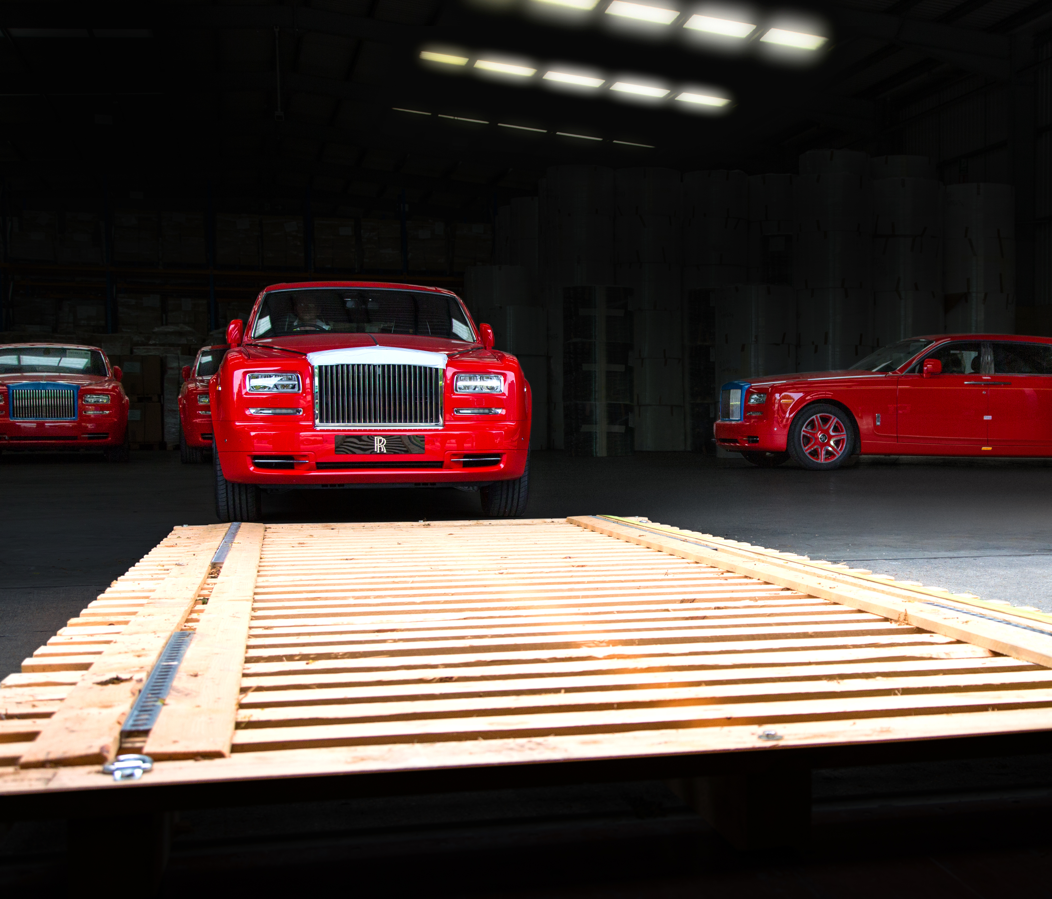 30 Bespoke Rolls-Royce Phantoms Arrive at The 13 Hotel in Macau