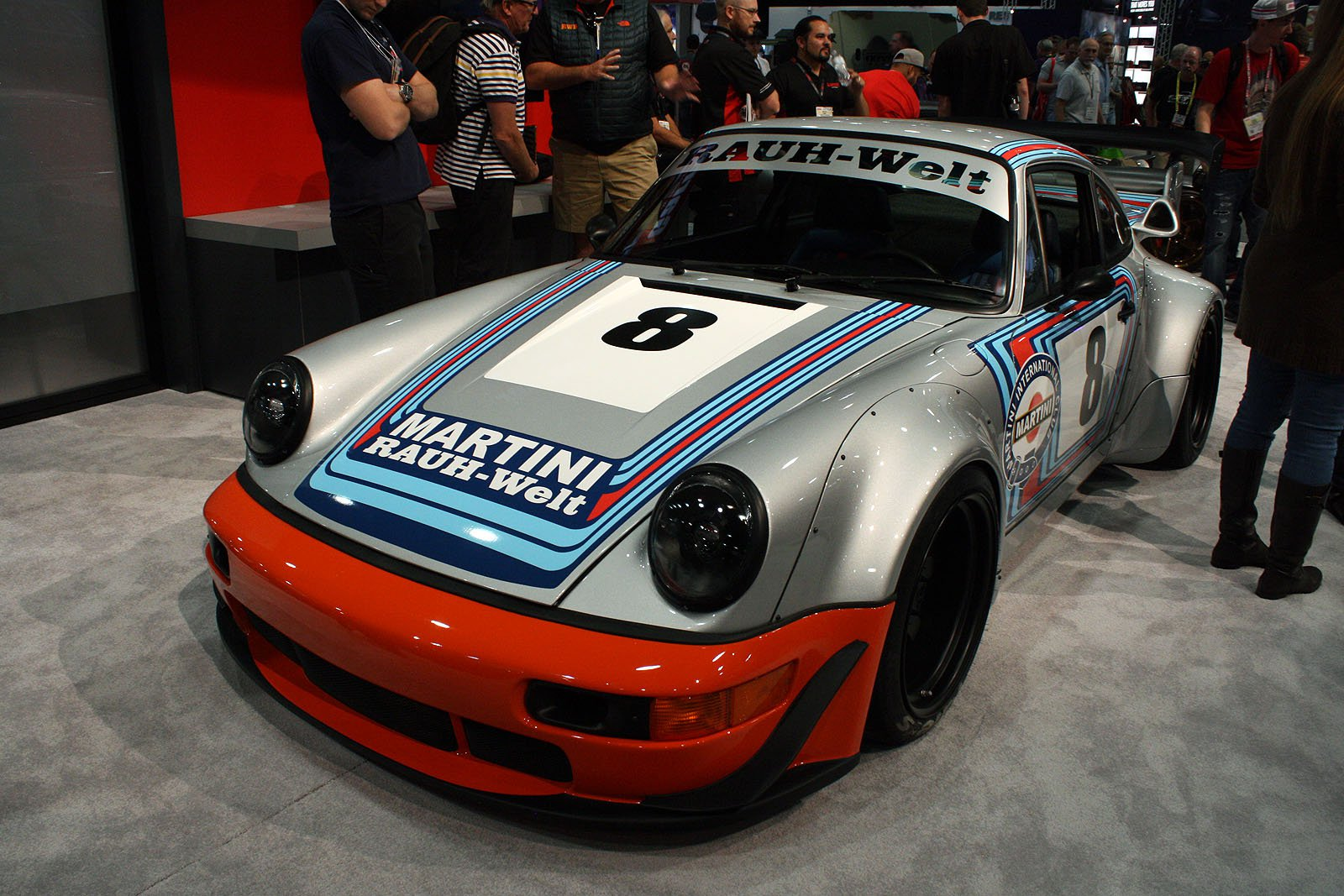 ... SEMA Show Is Just Getting Started, And Among The Lifted Brodozers And  Crystal Encrusted Engines, There Lies An Actual Gem, This Gorgeous RWB Porsche  911 ...