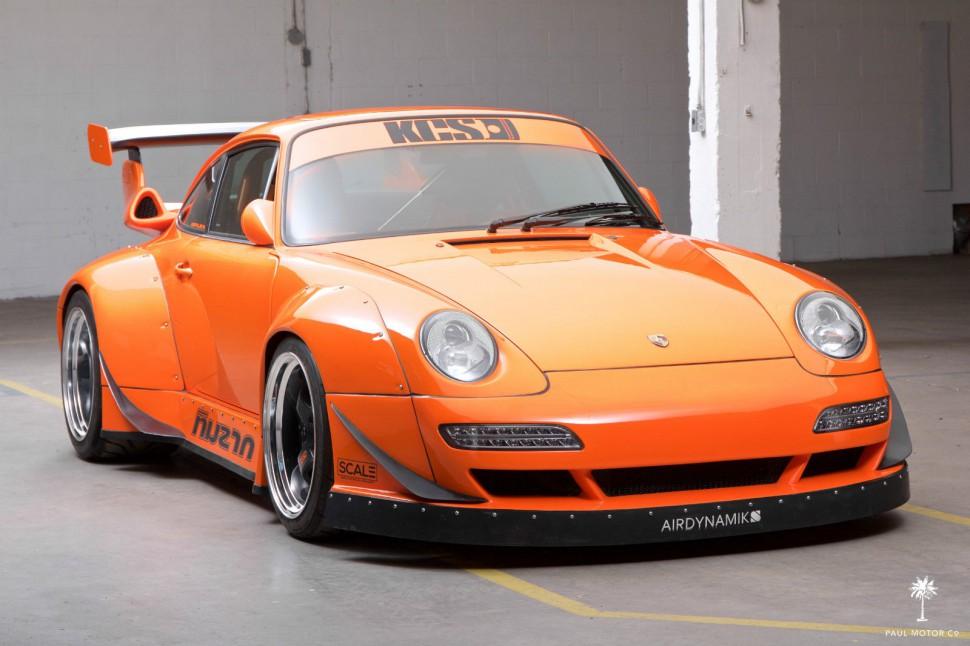 Is This 911 Custom 993 Wide Body The Strangest Porsche