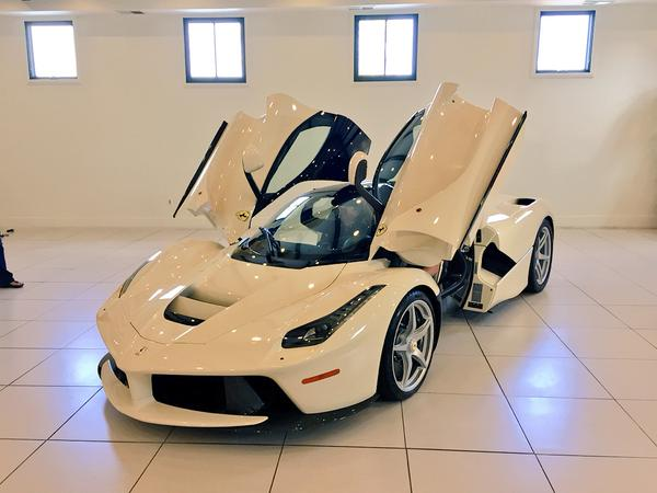 Guess Who Just Bought a White LaFerrari? Hint: He Ruined an '80s Rock Group.