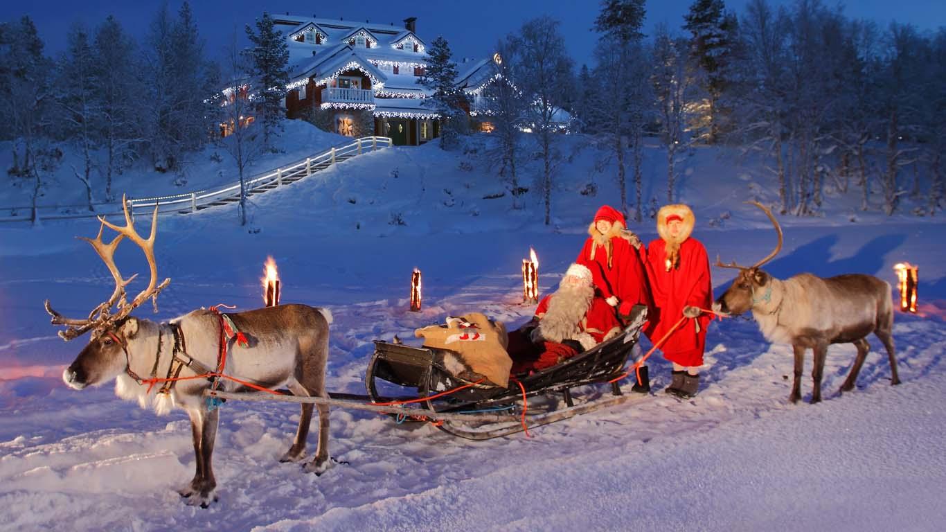 Santas home