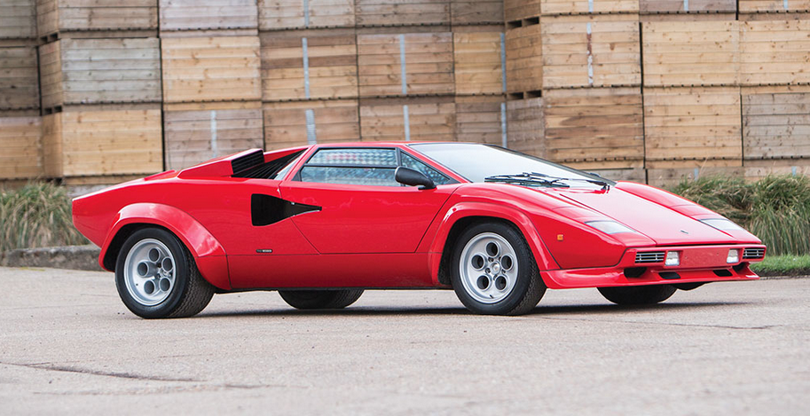 This Rare 1978 Lamborghini Countach LP400 S is About to Hit The Auction Block