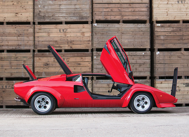 This Rare 1978 Lamborghini Countach Lp400 S Is About To Hit The Auction Block Luxury4play Com