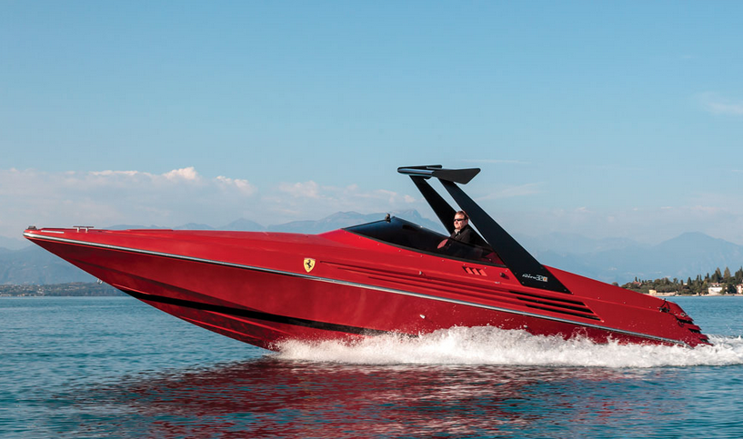 This Super-Rare Ferrari Speedboat is Expected to Sell for A Ridiculous Amount At Auction