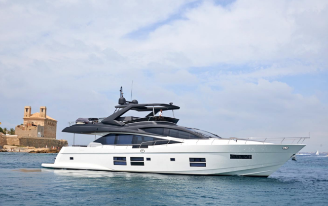 Make Your Dreams Come True with This Customizable Luxury Yacht: The 80 GLX