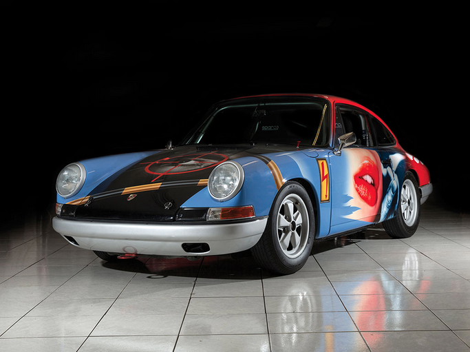 "Would You Buy This Crazy Painted 1965 Porsche 911 ""007"" by Peter Klasen?"