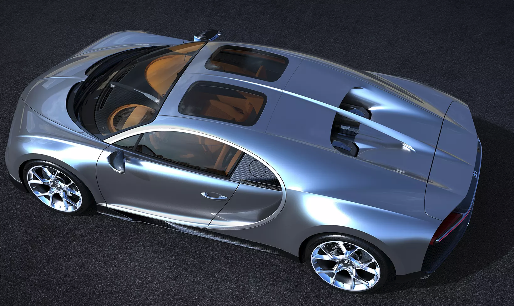 The Bugatti Chiron, But with More Glass