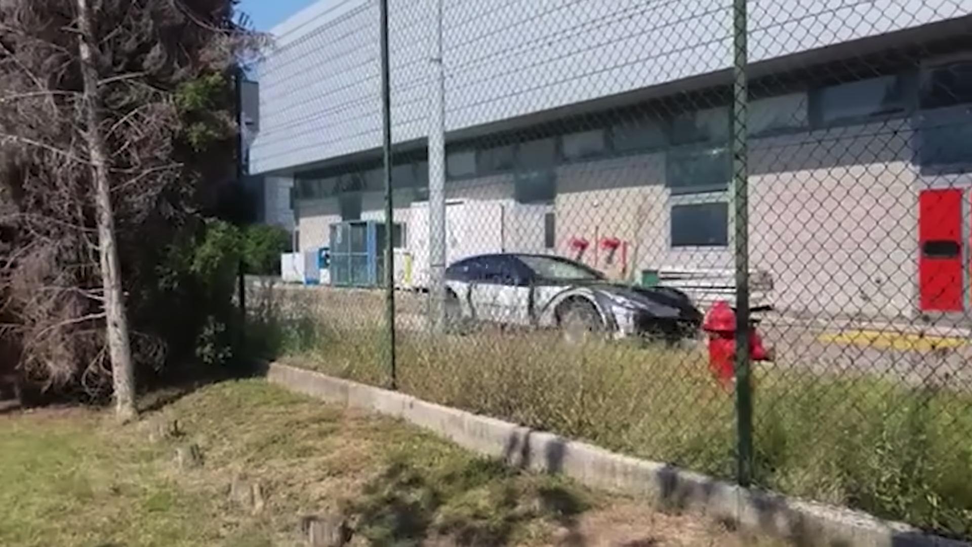 Ferrari Purosangue SUV Prototype Caught on Video