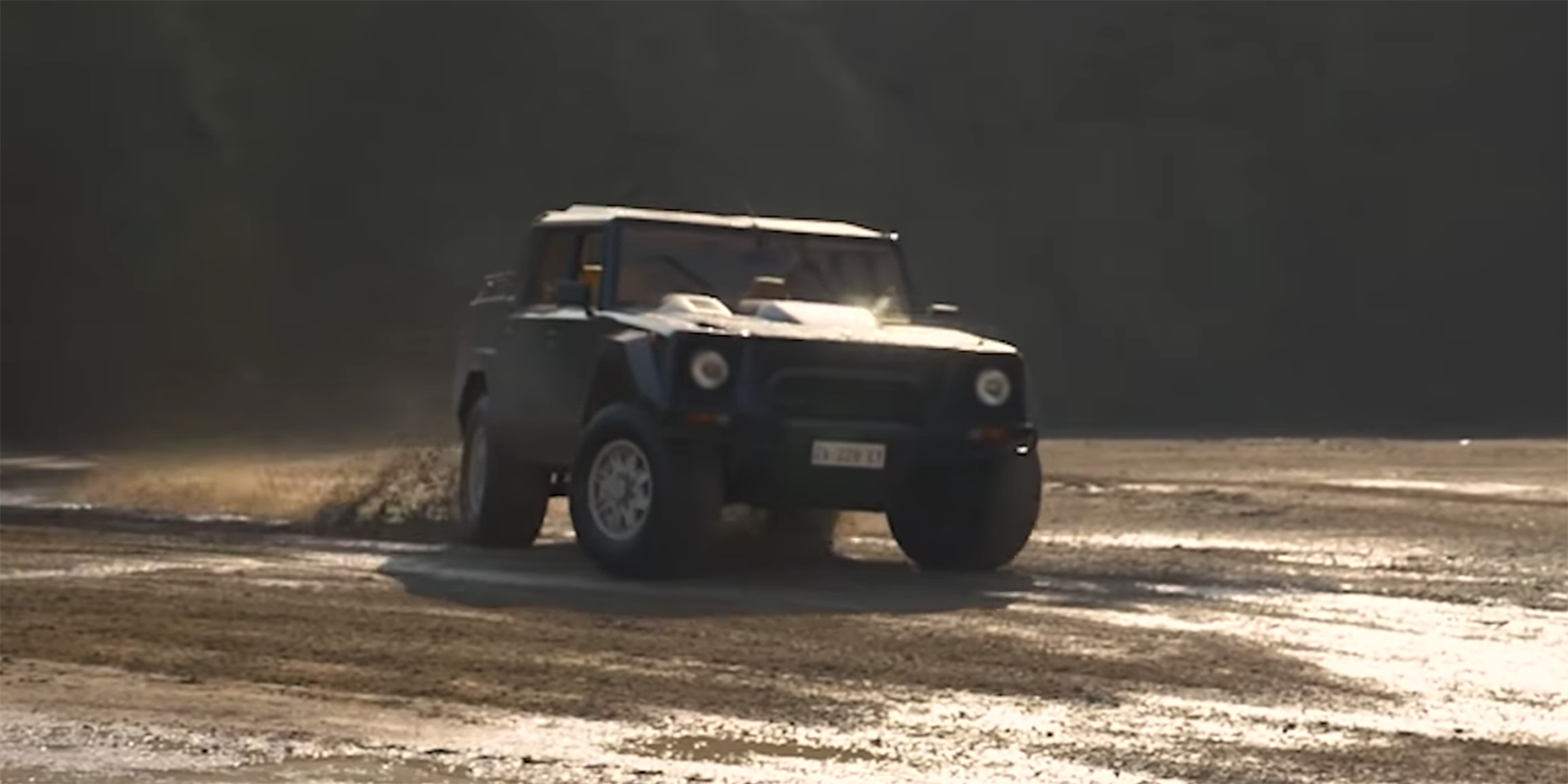 Watch: Lamborghini's LM002 Was Pretty Super
