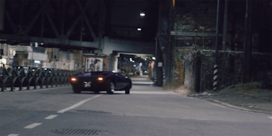 Start the New Year Right with a Countach Powersliding through Milan