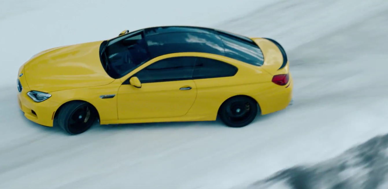 Watch a BMW M6 Tear Up the Tundra