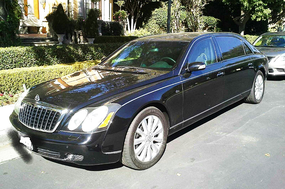 Charlie Sheen's Bulletproof Maybach Is Sale on eBay—But Why's It
