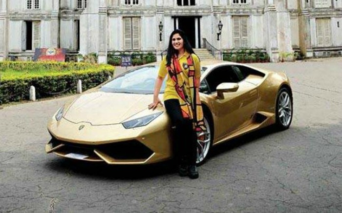 Meet The First Indian Woman To Own A Lamborghini—Ever