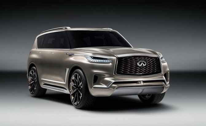 Infiniti QX80 Monograph Concept Looks like a Land Rover Rival