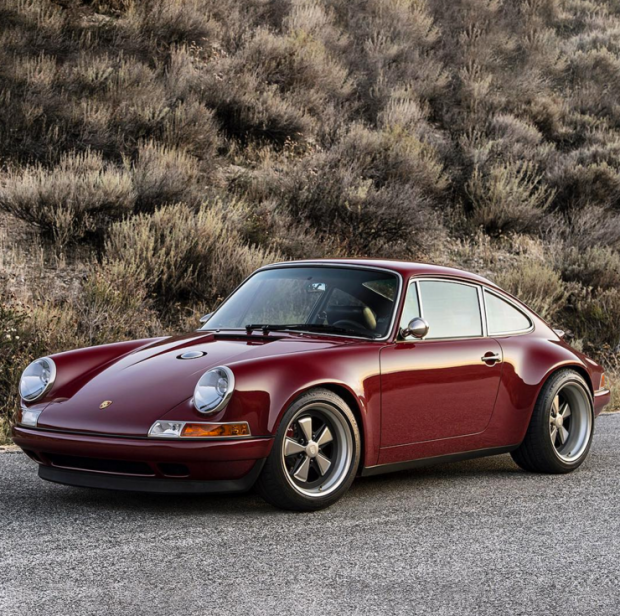 Current Porsche Models: This Customized Singer Porsche 911 In Oxblood Is Simply
