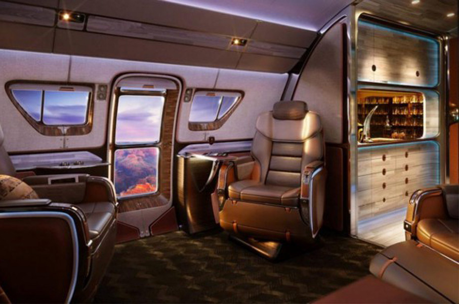 Designed for a Viking Billionaire, this Luxury Plane is the Manliest Thing in the Sky