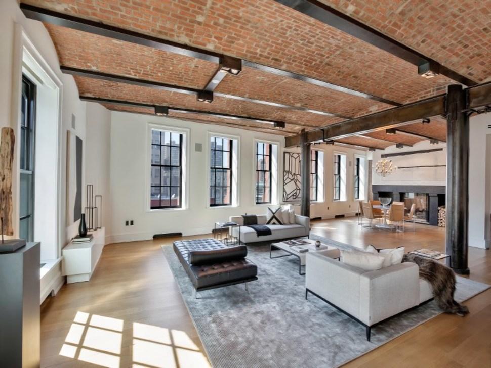 This Stunning $18 Million Luxury Soho Loft is an Interior Designer's Dream