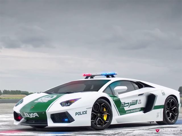 The World's Greatest Police Fleet Just Got More Awesome