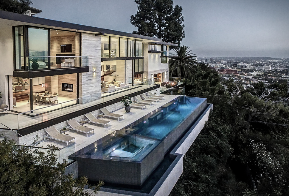 For L.A. Living It Doesn't Get Better than this Party House in the Hollywood Hills
