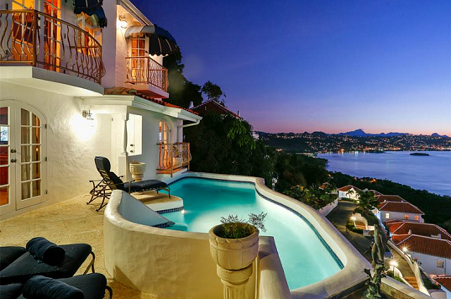 This St. Lucia Villa Has Some of the Most Beautiful Ocean Views Ever